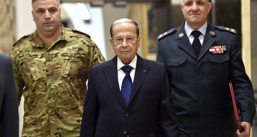 Lübnan Cumhurbaşkanı Avn, Beyrut'taki patlamanın nedeni füze, bomba veya dış etken olabilir