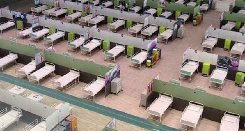 İran'ın en büyük AVM'si hastaneye dönüştürüldü