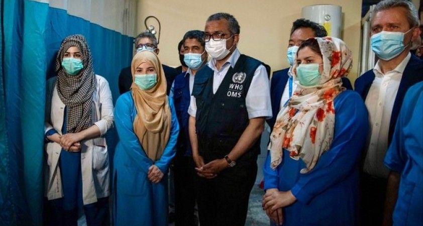 Dünya Sağlık Örgütü Direktörü Afganistan'da