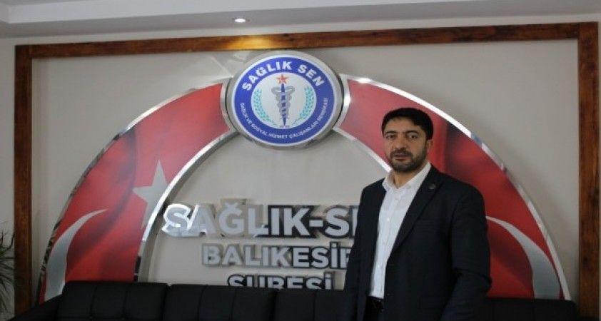 Sağlık Sen Başkanı Erzi'den öneri