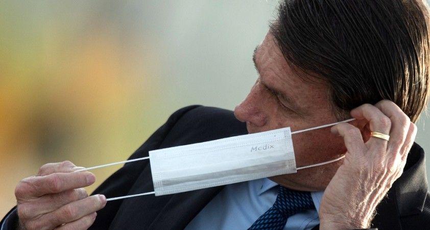 Bolsonaro'yu maske takmaya zorlayan mahkeme kararı iptal