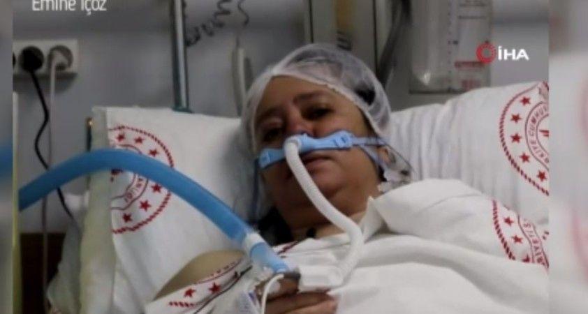 """Aşı yaptırmayan hasta pişman oldu: """"15 20 gündür çok zor nefes alıyorum"""""""