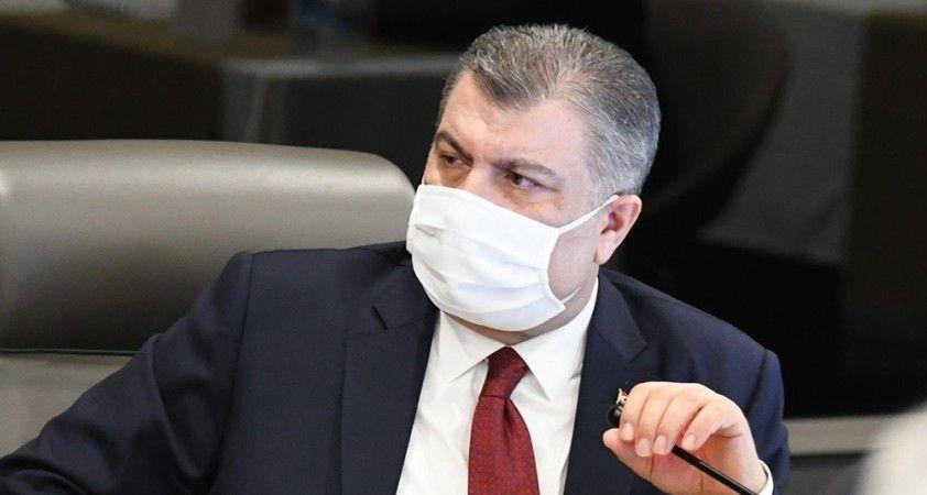 """Bakan Koca: """"Salgının İstanbul'daki seyrini masaya yatırdık"""""""