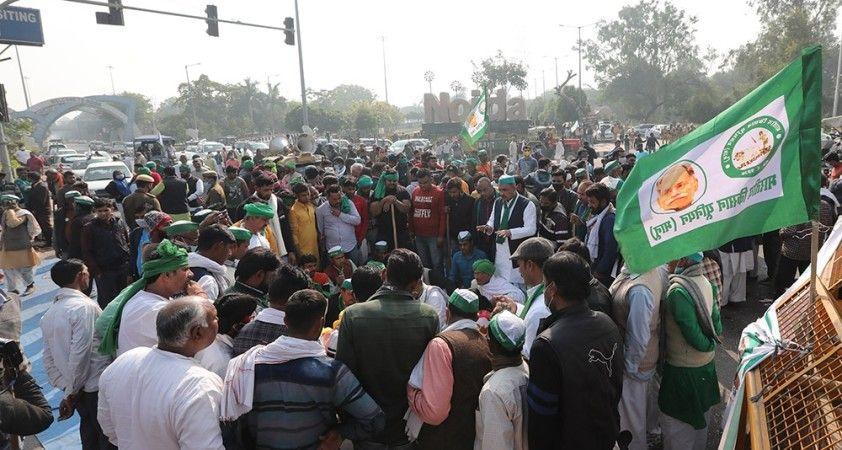 Hindistan'da yeni tarım yasası karşıtı protestolar devam ediyor