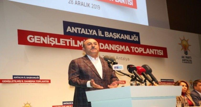 """Dışişleri Bakanı Çavuşoğlu: """"Libya ile imzaladığımız mutabakat boş bir mutabakat zaptı değil"""""""