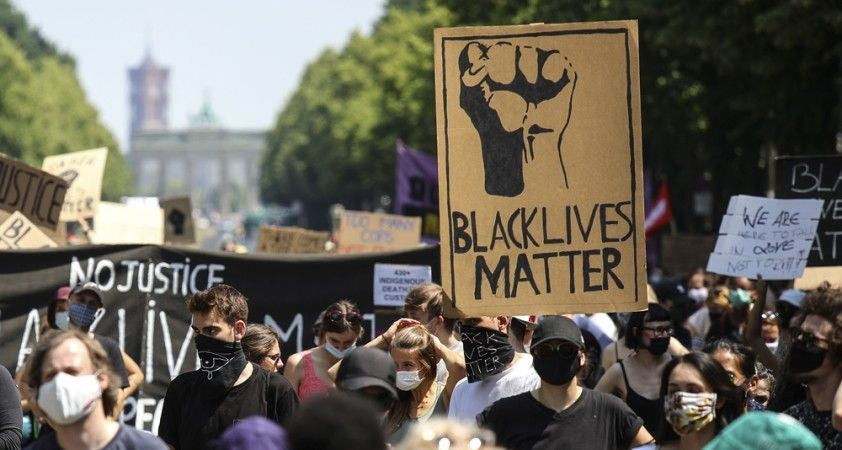 "Berlin'de ""Black Lives Matter"" mitingi"