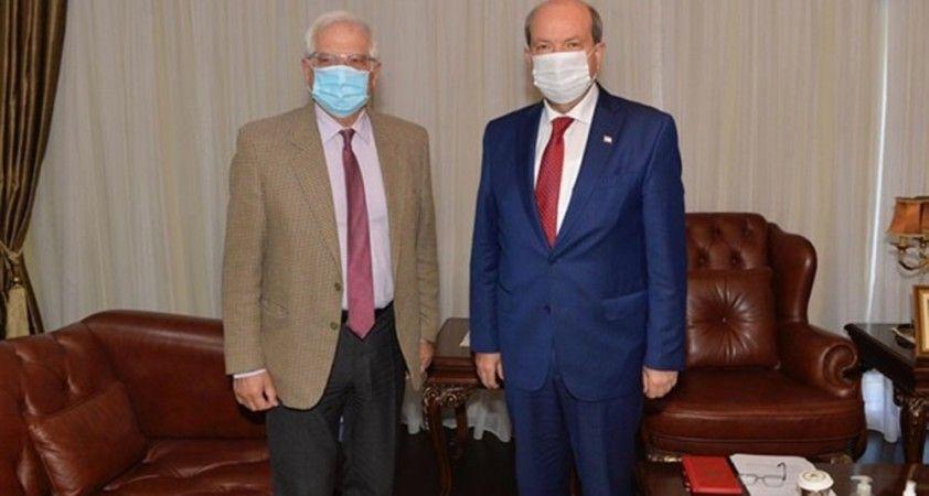 KKTC Cumhurbaşkanı Tatar, AB Yüksek Temsilcisi Borrell ile görüştü