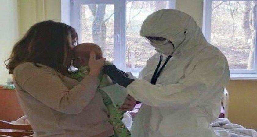 Ukrayna'da 3 aylık bebek koronavirüsüne yakalandı
