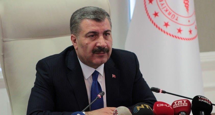 Sağlık Bakanı Koca: '61 kişiden alınan numuneleri negatif'