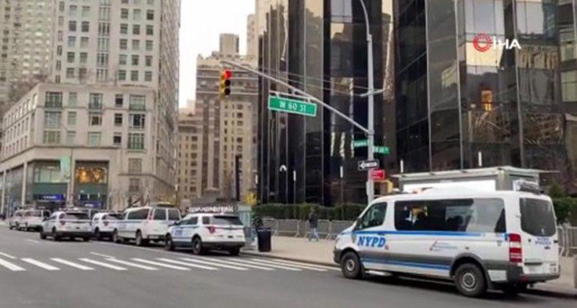 Trump'ın New York'taki otelinin çevresinde önlemler arttırılıyor