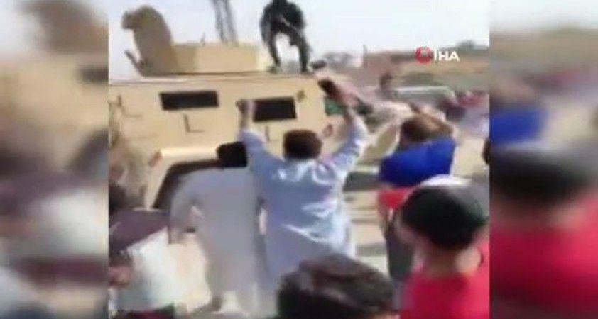 Suriye'de Fransa'yı protesto eden sivillere PKK/YPG'li teröristler ateş açtı: 2 yaralı