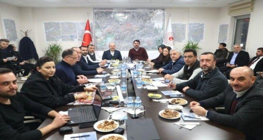 Elazığ'da Hasar Tespit ve Koordinasyon Toplantısı