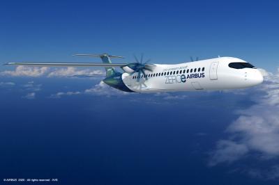 Airbus yeni sıfır emisyon konsept uçağını tanıttı
