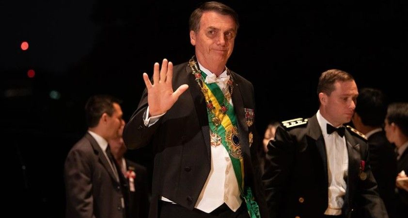 Brezilya Devlet Başkanı Bolsonaro'da Kovid-19 tespit edildi