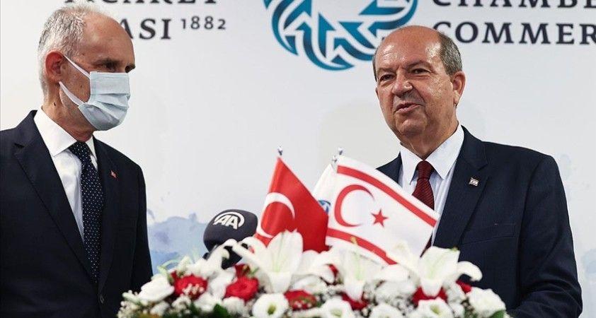KKTC Cumhurbaşkanı Tatar: Kıbrıs Türk halkı serhat bekçileridir