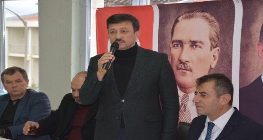 """AK Parti Genel Başkan Yardımcısı Dağ: """"Biz verdiğimiz sözü yerine getiririz"""""""