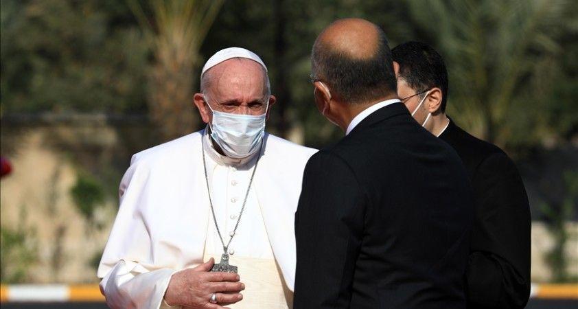 Papa, Erbil'de Aylan bebeğin babasıyla görüştü