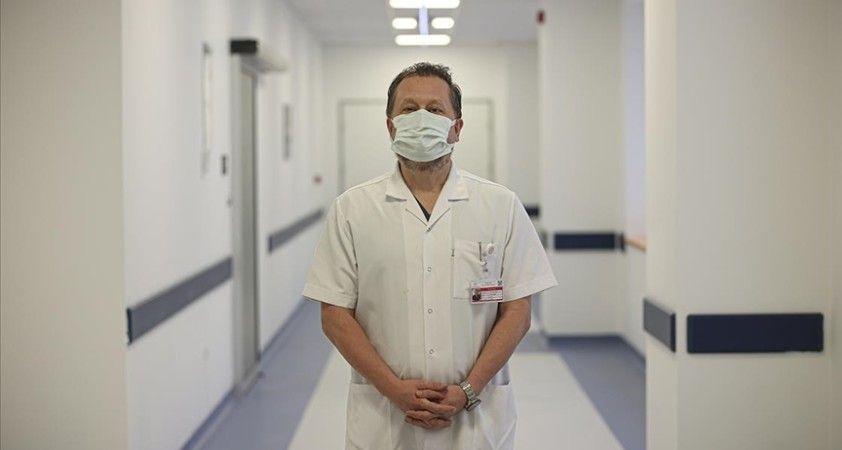 Ankara Şehir Hastanesi'nde acil servise başvuran Kovid-19 hasta sayısı son bir ayda yüzde 60 azaldı
