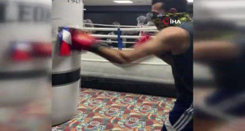 Libyalı ünlü boksör Zinad'dan Macron'a