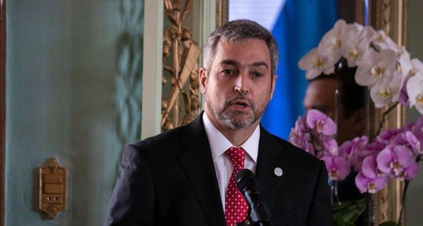 Paraguay Devlet Başkanı Mario Abdo Benitez kabinenin istifasını istedi