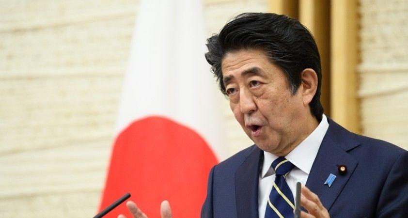 Japonya Başbakanı Abe'den,