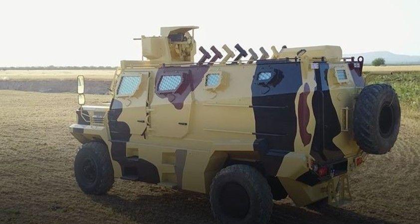 SMO'dan yeni zırhlı araç