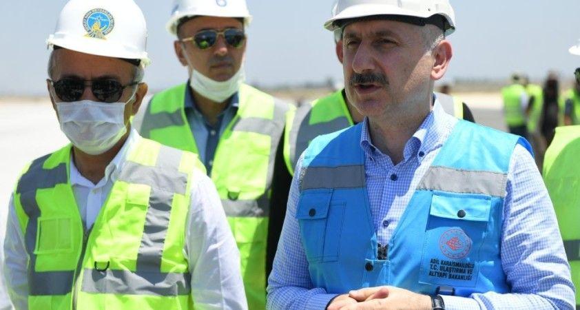 'İki yıl bitmeden Çukurova Havalimanına ilk uçak inecek'