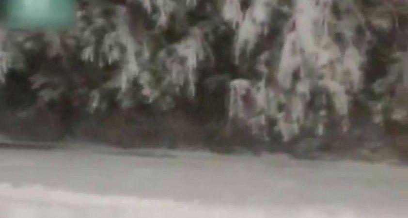 O ülkede Eylül ayında yağan kar şaşırttı