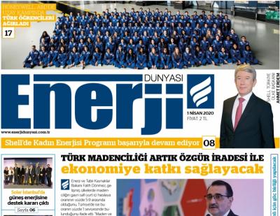 Enerji Dünyası E-Gazete - Nisan 2020