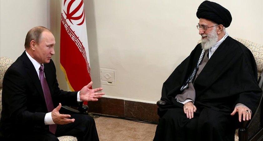 Rusya Devlet Başkanı Putin, İran lideri Hamaney'e mesaj gönderdi