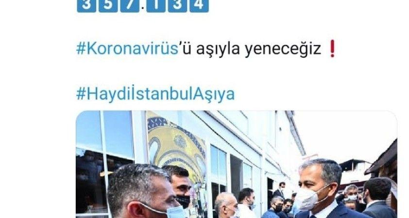 İstanbul'da aşı rekoru