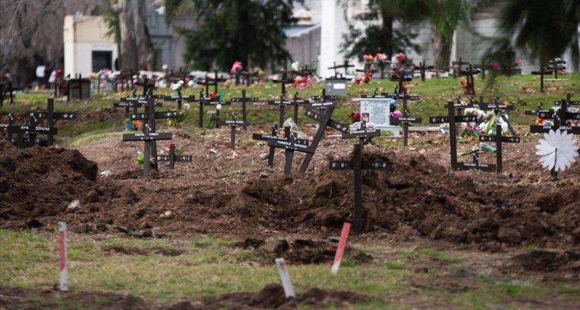 Arjantin'de son 24 saatte Kovid-19 sebebiyle 792 kişi hayatını kaybetti