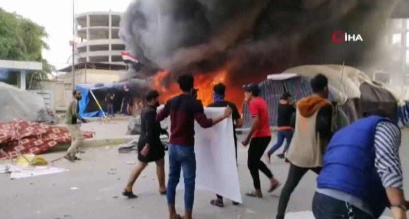 Irak'ın Nasıriye kentindeki çatışmalar kanlı bitti: 1 ölü, 45 yaralı
