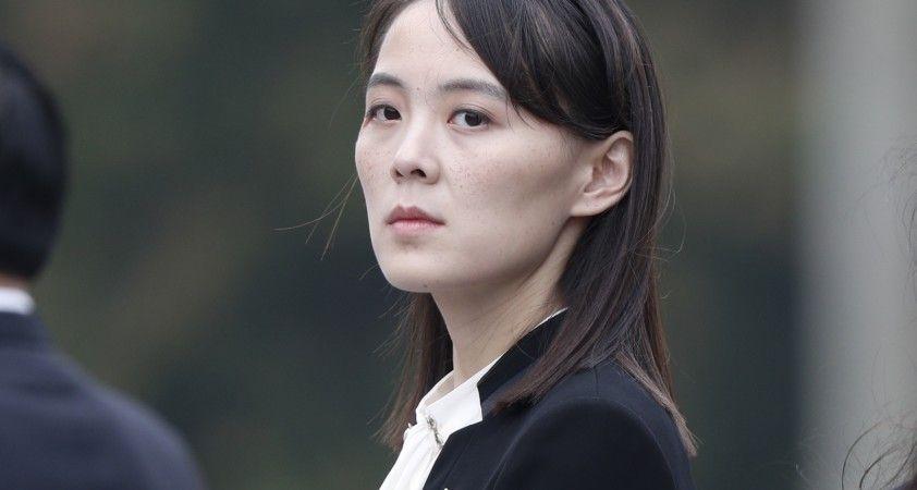 Kuzey Kore lideri Kim'in kardeşi Kim Yo-Jong: