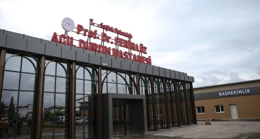 Sancaktepe Prof. Dr. Feriha Öz Acil Durum Hastanesi sağlık turizminde de hizmet verecek