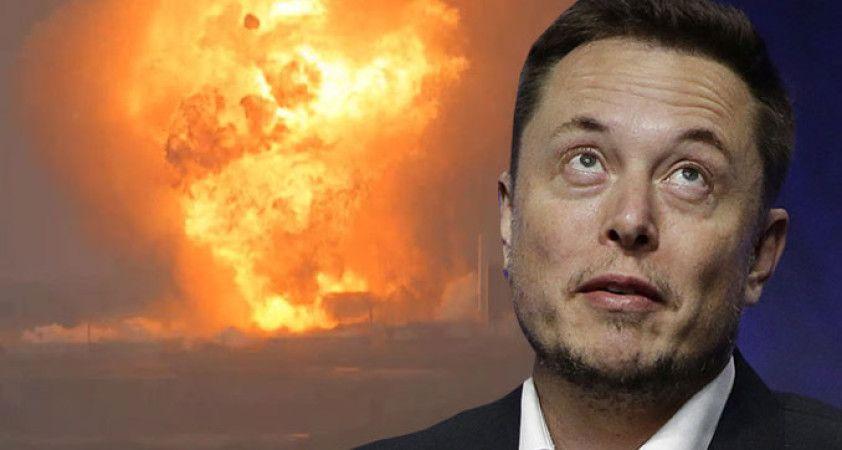Elon Musk'ın bir roketi daha infilak etti