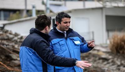 UEDAŞ'ın zorlu çalışması tamamlandı: Marmara Adası elektriğine kavuştu